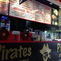 Photo taken at Pirates Burger by Juan Manuel R. on 5/2/2014