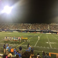 Photo taken at FIU Stadium by Alyssa B. on 9/24/2016