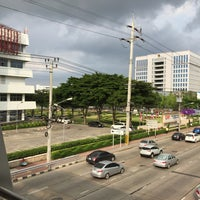 Photo taken at Chaeng Watthana Road by PARRn on 4/25/2018