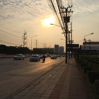 Photo taken at Chaeng Watthana Road by PARRn on 3/13/2018