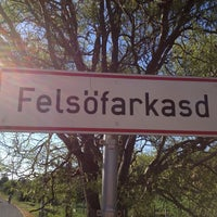 Photo taken at Felsőfarkasd by Andras P. on 8/2/2013