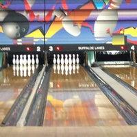 Photo taken at Buffaloe Lanes South Bowling Center by Drew B. on 3/11/2013