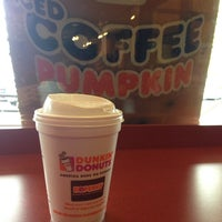 Photo taken at Dunkin Donuts by Haunted Happenings M. on 9/29/2014