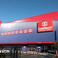 Photo taken at CubeSmart Self Storage by Jaclyn K. on 10/2/2015