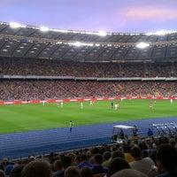 Снимок сделан в НСК «Олимпийский» пользователем Анастасия Т. 7/7/2013