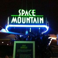 Photo taken at Space Mountain by Steve B. on 3/19/2013