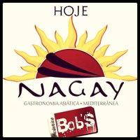 Photo taken at Nagay Gastronomia Asiática e Mediterrânea by Matheus M. on 9/17/2013