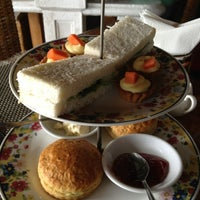 Photo taken at English Tea House & Restaurant by Faye F. on 2/16/2013