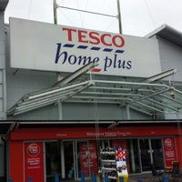 Photo taken at Tesco Home Plus by Benedict H. on 6/12/2013