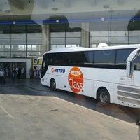 Photo taken at AŞTİ Metro Turizm Peronu by Merve C. on 7/15/2013