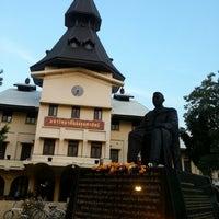 Photo taken at Thammasat University by kwan on 12/16/2012