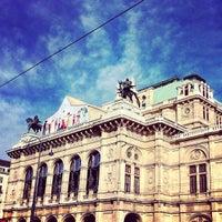 Photo taken at Vienna State Opera by Robert-P. P. on 10/15/2012