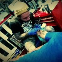 Photo taken at Lifetime Tattoo by Alejandro™ on 5/3/2014