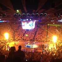 Photo taken at Oracle Arena by Ryan L. on 5/17/2013
