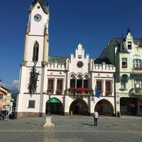 Photo taken at Krakonošovo náměstí by Petr K. on 8/18/2016