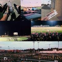 Photo taken at Avon High School Oriole Stadium by Aryuna S. on 10/5/2013