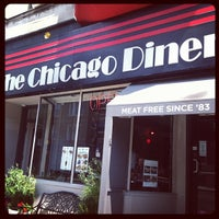 Photo taken at Chicago Diner by Federico S. on 7/22/2013
