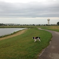 Photo taken at Lady Bug Lake by Brian P. on 8/11/2013