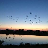 Photo taken at Lady Bug Lake by Brian P. on 8/17/2013