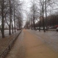 Photo taken at Аллея на Космонавтов by Trifonov on 1/29/2017