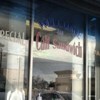 Photo taken at Cali Sandwiches by adiel m. on 3/24/2013