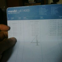 Photo taken at Bank Mandiri, KCP Telkom by Perdana E. on 5/19/2013