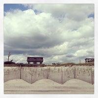 Photo taken at Fair Harbor Beach (Walnut Walk) by Chrysanthe T. on 9/8/2013