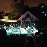 Photo taken at Delacorte Theater by Chrysanthe T. on 8/8/2013