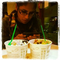 Photo taken at Tutti Frutti Frozen Yogurt by Charlie C. on 4/8/2012
