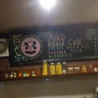Photo taken at Aiko Maid-Cafe by Giawan A. on 6/5/2014