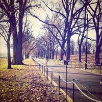 Photo taken at Constitution Gardens by Julio C. on 12/9/2012