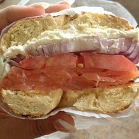 Photo taken at New York Bagel & Bialy by Catherine H. on 7/2/2013