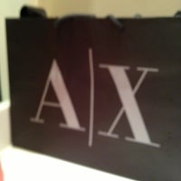 Photo taken at Armani Exchange by Marquise N. on 1/28/2013