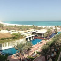 Photo taken at The St. Regis Saadiyat Island Resort by studio r. on 8/31/2013