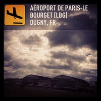 Photo taken at Aéroport Paris-Le Bourget (LBG) by Martin G. on 6/22/2013