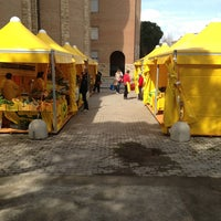Photo taken at Mercato Campagna Amica by Claro R. on 3/23/2013