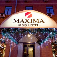 Photo taken at Maxima Irbis hotel / Максима Ирбис отель by Maxima Hotels Moscow on 11/12/2014
