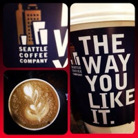 Photo taken at Seattle Coffee Company by Bachir S. on 12/29/2013