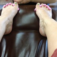 Photo taken at cocok nail salon by Kelly M. on 6/14/2013