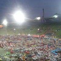 Photo taken at Olympic Stadium by Sascha P. on 7/18/2013