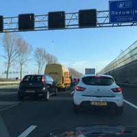 Photo taken at A12 (12, Reeuwijk) by Theo v. on 3/23/2017