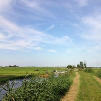 Photo taken at Hollands-Utrechts Polderpad by Theo v. on 8/26/2013