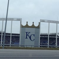 Photo taken at Kauffman Stadium by Jordan W. on 4/14/2013