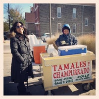 Photo taken at Spicy Tamales Lady Stand by California J. on 11/13/2013