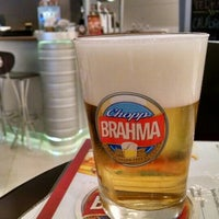 Photo taken at Quiosque Chopp Brahma by Ronny S. on 5/2/2015