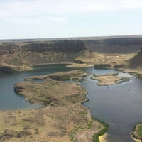 Photo taken at Dry Falls Lake by Chelsea on 5/30/2014