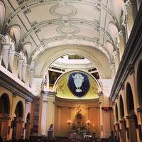 Photo taken at Catedral Metropolitana de Nossa Senhora da Ponte by Filipe B. on 4/20/2013