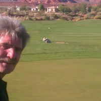 Photo taken at Coral Canyon Golf Course by Kim d. on 10/30/2012