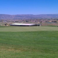 Photo taken at Soldier Hollow Golf Course by Kim d. on 10/2/2012