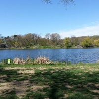 Photo taken at Harlem Meer by Shawn L. on 4/25/2013